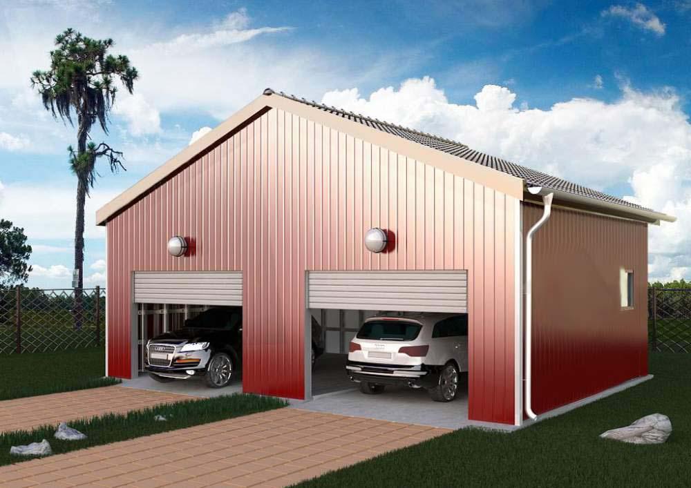 Самая дешевая постройка гаража