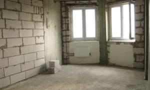 Рекомендации, как правильно принимать в новостройке квартиру без отделки у застройщика