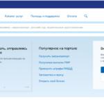 Заявление на регистрацию в электронном виде через портал gosuslugi.ru.