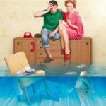 Заставить квартирантов оплачивать ремонт соседям по причине залива