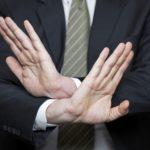 Отказ от помощи юристов