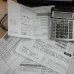 Сверить квитанции на коммунальные платежи