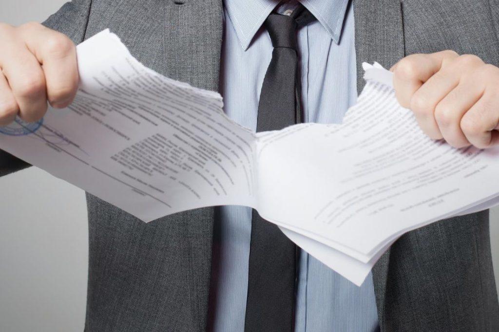 Расторжение договора долевого участия по инициативе дольщика 214