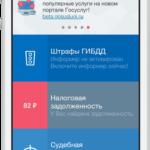 Пользование порталом с мобильного телефона
