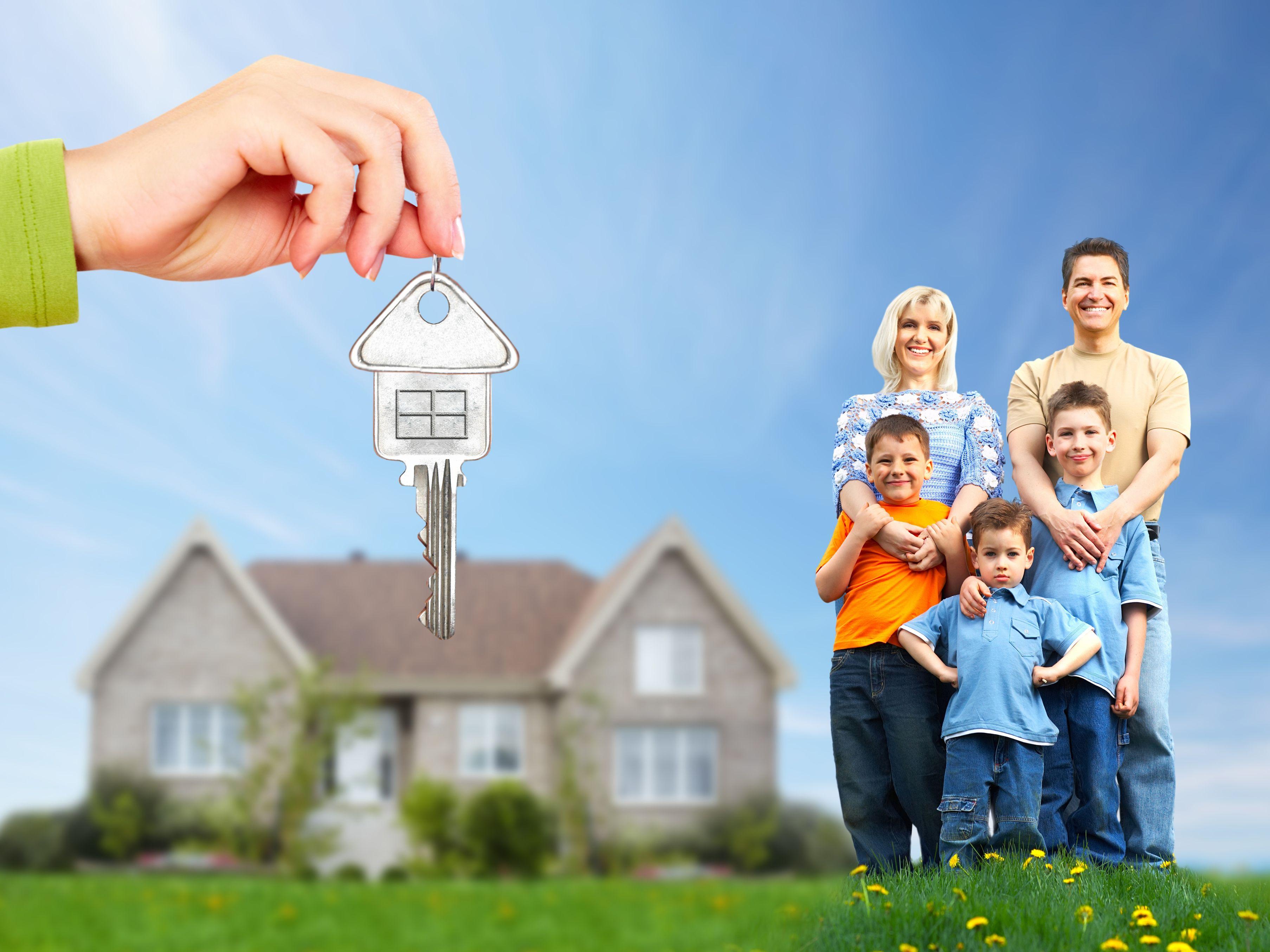 Как многодетной семье можно взять ипотеку