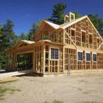 Дом находится на этапе строительства