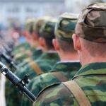 Мужчина был призван на военную службу