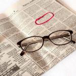Подача объявления в газету