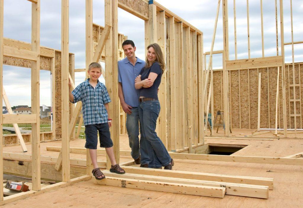 Строительство дома молодым семьям