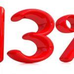 13% налог с продажи квартиры
