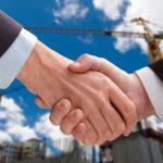 Заключение со строительной фирмой соглашения о долевом участии
