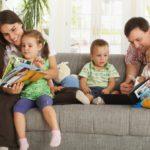 Совместное проживание детей с родителями