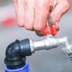 Перекрыть водопроводные краны