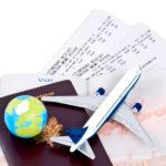 Билеты на самолет, как подтверждения отсутствия в квартире в течение определенного периода