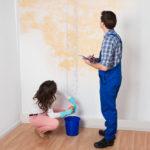 Зафиксировать ущерб от залития помещения